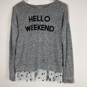 """Epic Threads """"Hello Weekend"""" Flaws but SO CUTE!"""